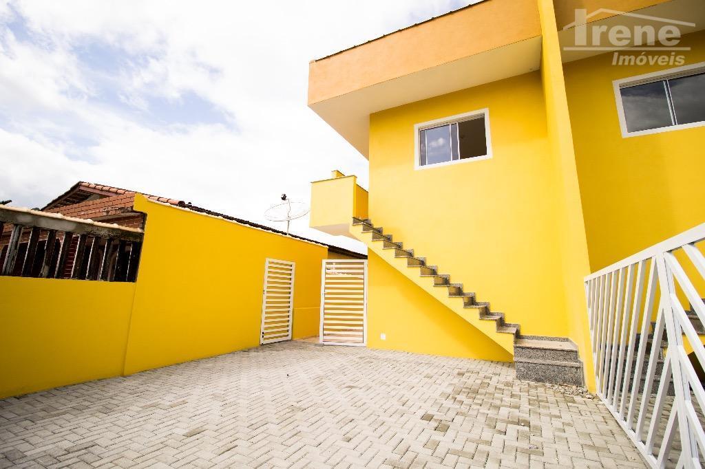 sua chance de adquirir a casa própria lado praia.imovel sobreposto, proximo a mercados, farmacias e padarias,...