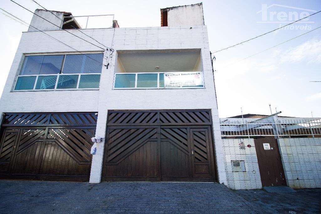 Sobrado residencial à venda, Jardim Anchieta, Itanhaem.