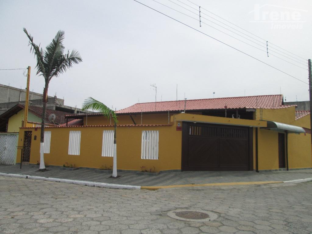 Casa residencial para venda e locação, Jardim Fazendinha, Itanhaem.