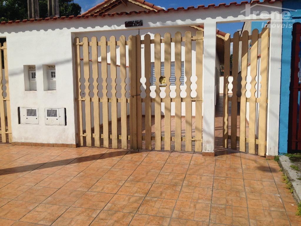 Casa residencial para locação, Balneário Santista, Itanhaém.