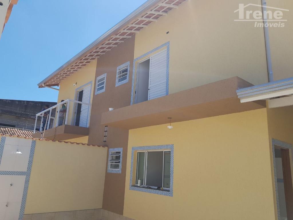 Sobrado residencial à venda, Jardim Suarão, Itanhaém.