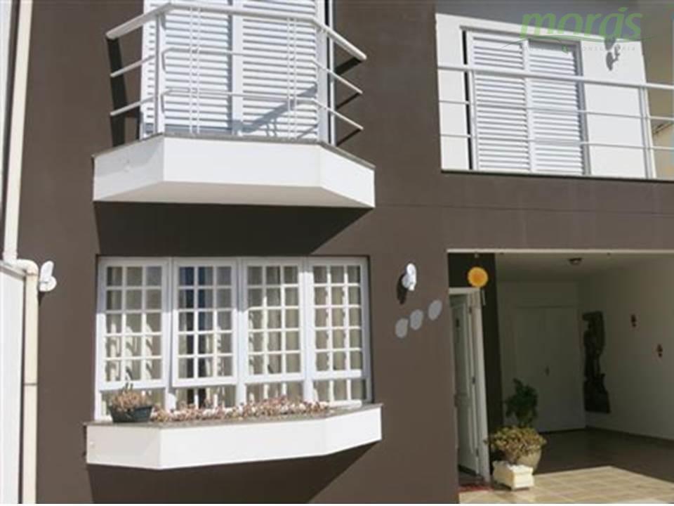 Casa de 131m2 AC à venda, Jardim Bonfiglioli, Jundiaí - CA0721.
