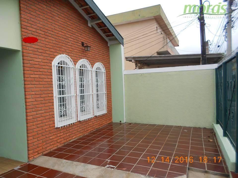 Casa de 160m2 AC para locação, Vila Didi, Jundiaí.
