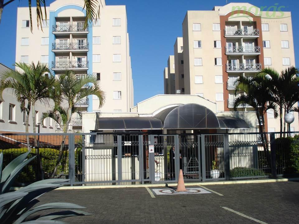 Apartamento  59m2 residencial para locação, Vila Joana, Jundiaí.