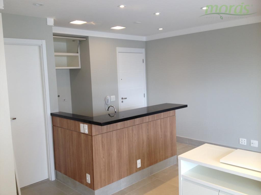 Apartamento com 1 dormitório para alugar, 47 m² por R$ 3.900/mês