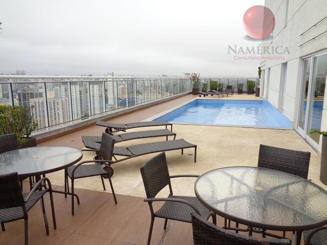 Apartamento residencial à venda, Brooklin, São Paulo - AP0876.