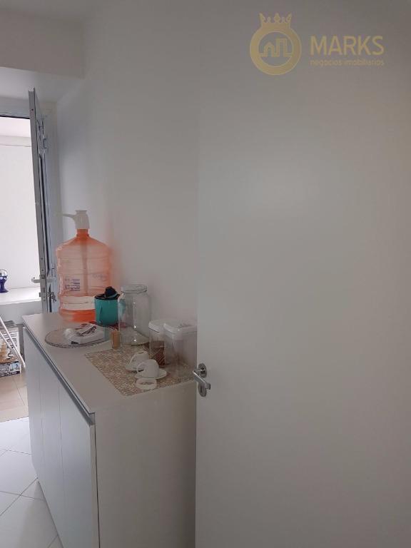 apartamento 2 dormitórios, sendo 1 suíte com sacada, sala também com sacada, cozinha e area de...