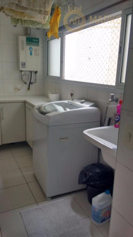 excelente apartamento com muito sol, lazer completo e segurança ! planta com 111 m², living para...