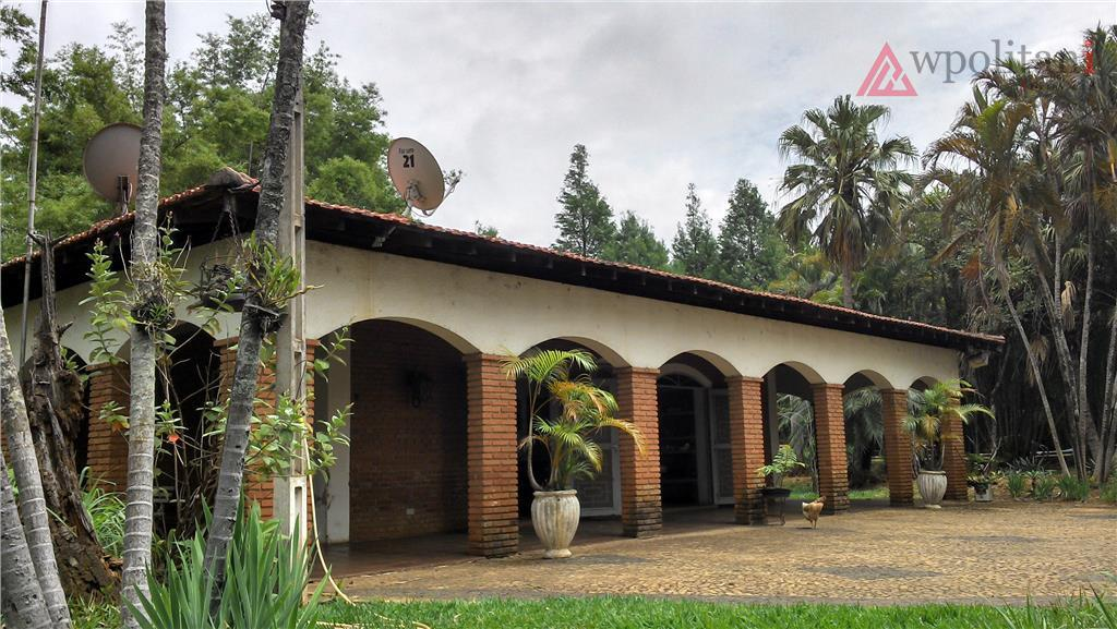 Chácara imponente à venda, Jardim Santa Alice, Santa Bárbara D'Oeste.