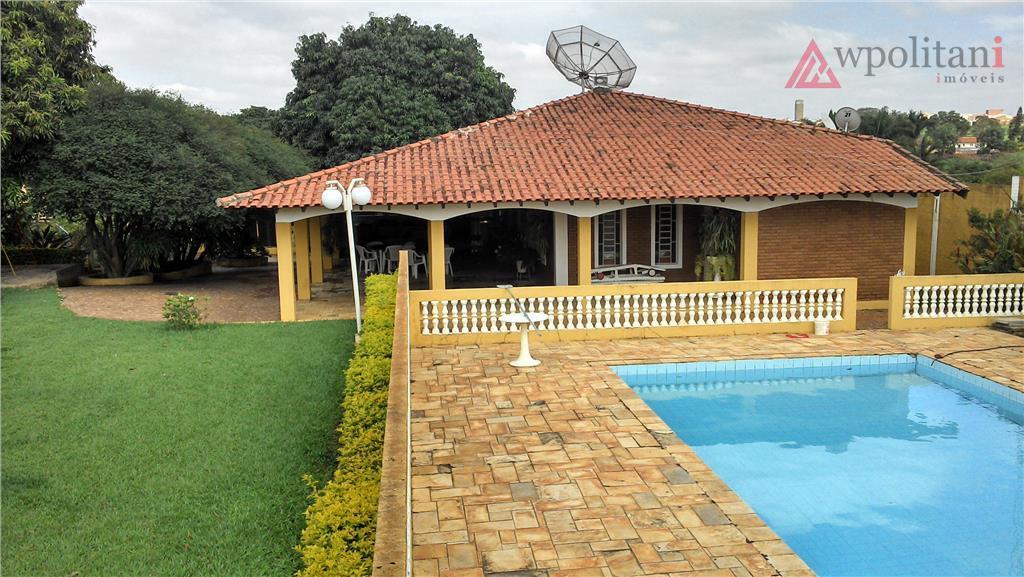 Chácara maravilhosa à venda, Jardim Santa Alice, Santa Bárbara D'Oeste.