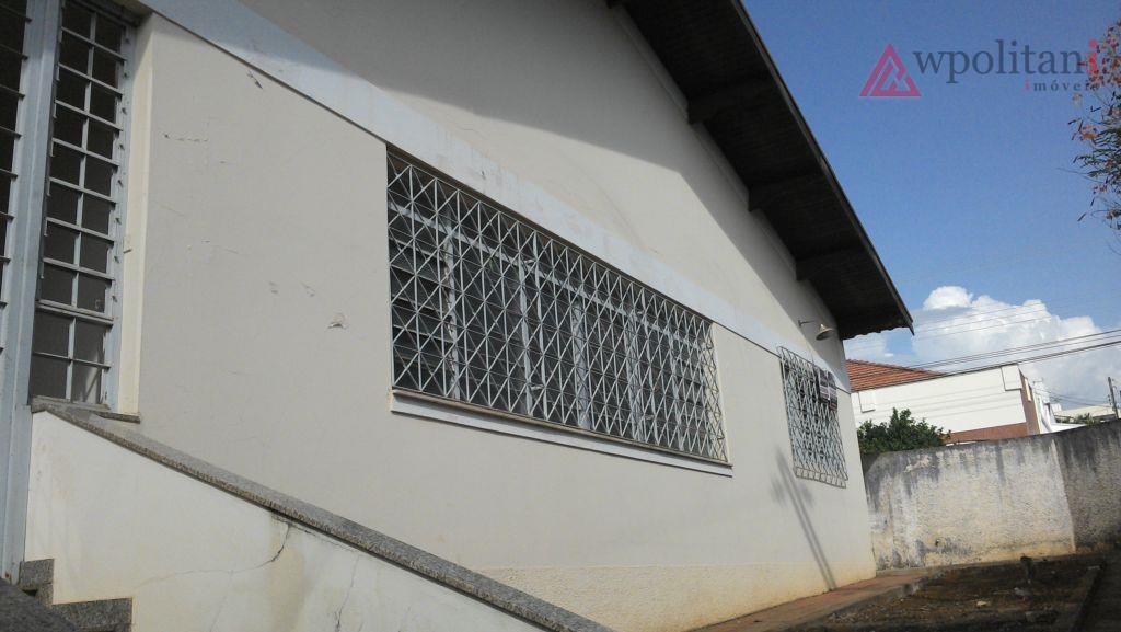 Casa  residencial/comercial de esquina à venda, Centro, Santa Bárbara D'Oeste.