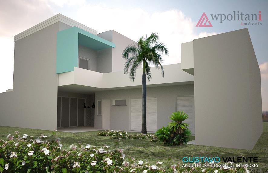 Casa  nova com mezanino à venda, Centro, Santa Bárbara D'Oeste.