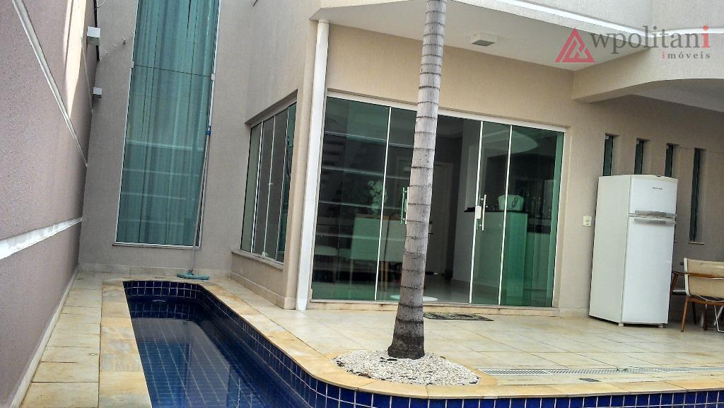 Casa residencial à venda, Jardim Dona Regina, Santa Bárbara D'Oeste.