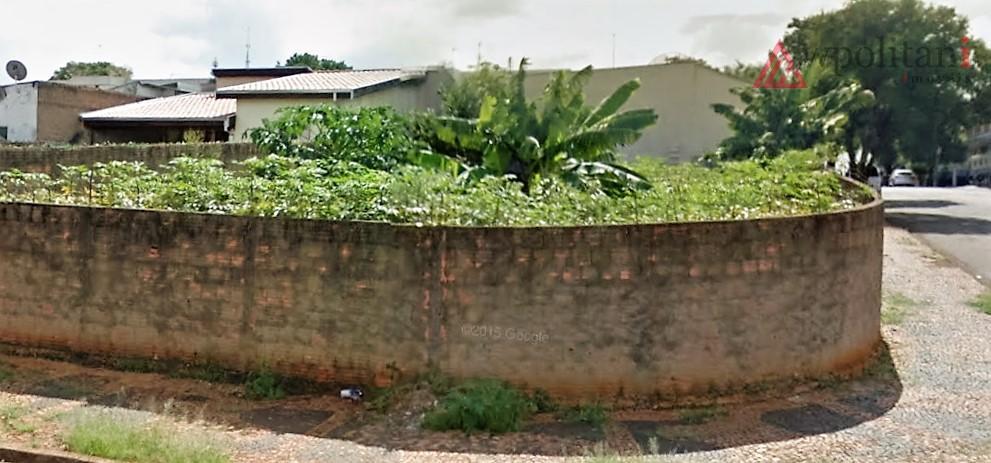 Terreno residencial em esquina à venda, Vila Brasil, Santa Bárbara D'Oeste.