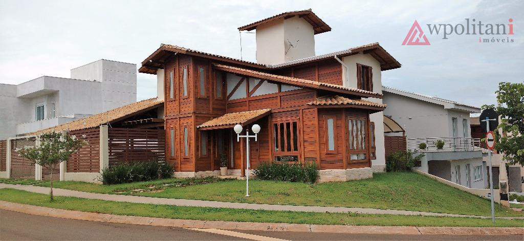 Casa assobradada à venda, Condomínio Resid. Mac Knight, Santa Bárbara D'Oeste.