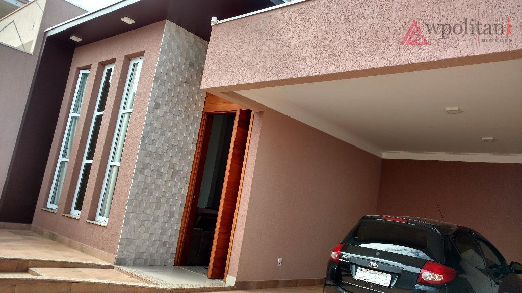 Linda casa térrea à venda, Terras de Santa Bárbara, Santa Bárbara D'Oeste.