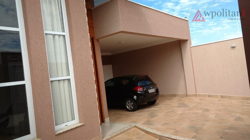 terras de santa bárbara - ótima casa térrea, entrega 100% mobiliada, 3 dormitórios, 1 suíte com...