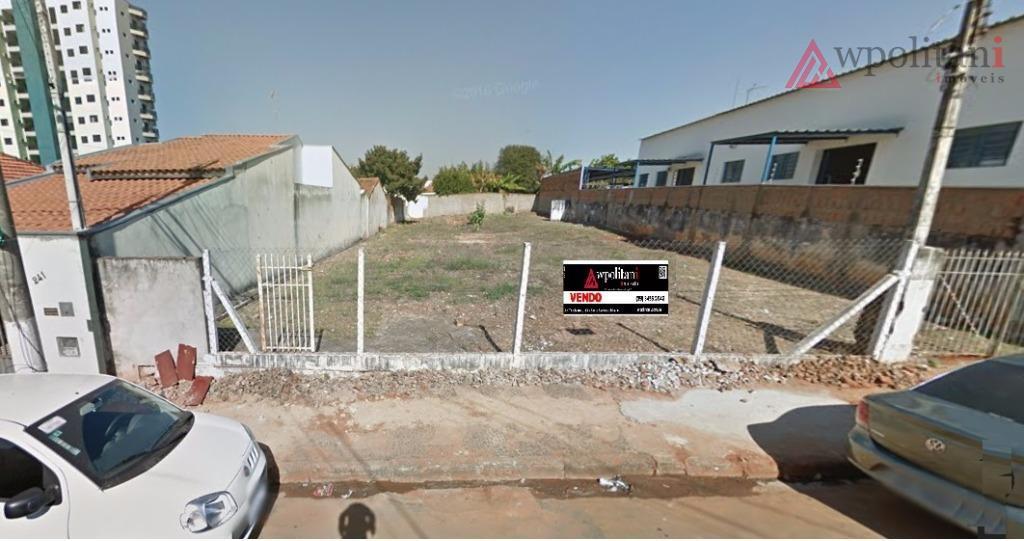 Terreno comercial/residencial à venda, Centro, Santa Bárbara D'Oeste.