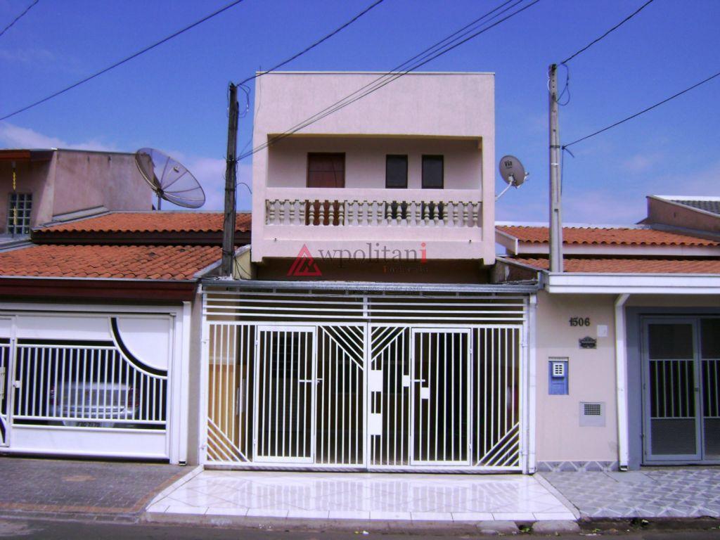Casa sobreposta à venda, Vila Mollon IV, Santa Barbara D'Oeste.