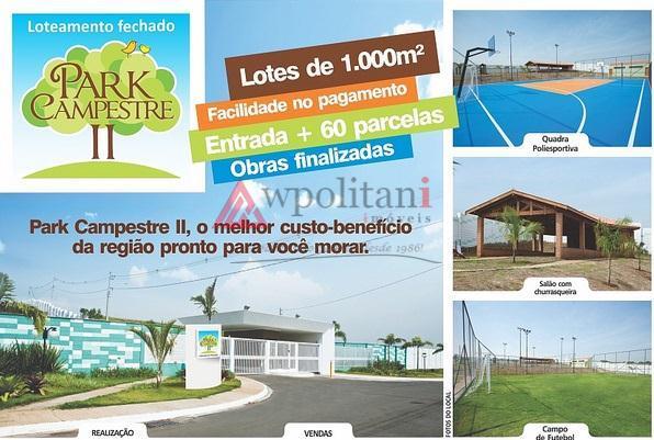 Terreno residencial à venda, Campestre, Piracicaba.