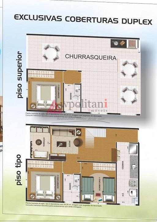 lançamento: mirante do são francisco54 aptos sendo:48 aptos 2 dorms, banho, cozinha, lavanderia, hall de entrada,...