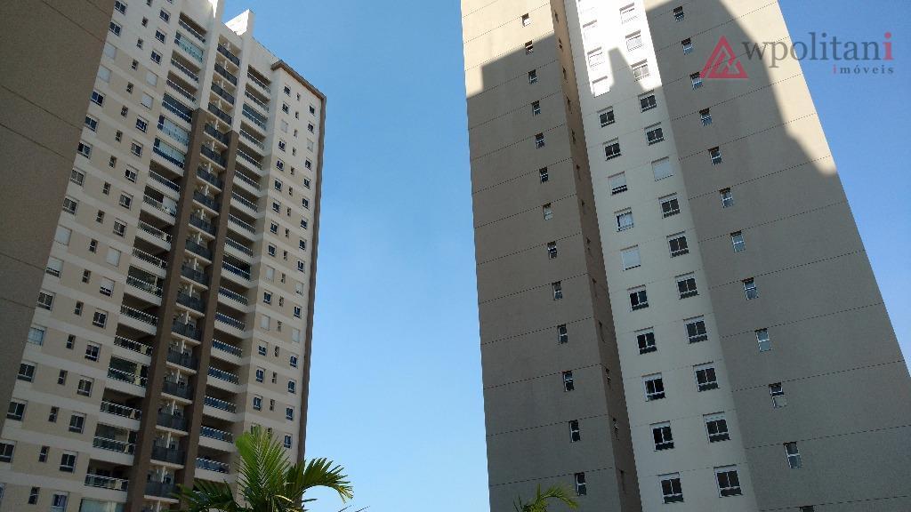 apartamento de alto padrão no residencial garnet na av. brasil em americana, com 121 m² au,...