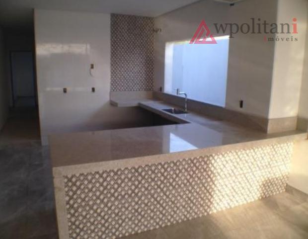 condomínio residencial macknight - projeto moderno de casa térrea, terreno de 297,00 m², ac 162,00 m²,...