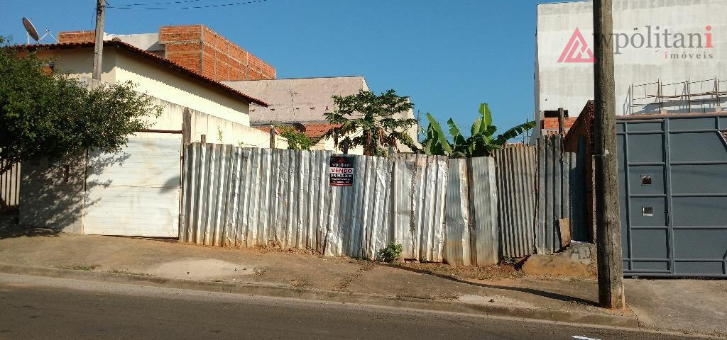 rochele ii - ótimo terreno 250 m², ótima localização em bairro tranquilo, com construção nas laterais,...