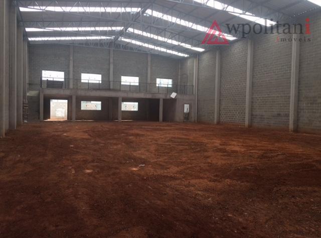 parque industrial bandeirantes - 974,83 m² au e 575,25 m² de vão livre.- terreno = 1.000,00m².-...