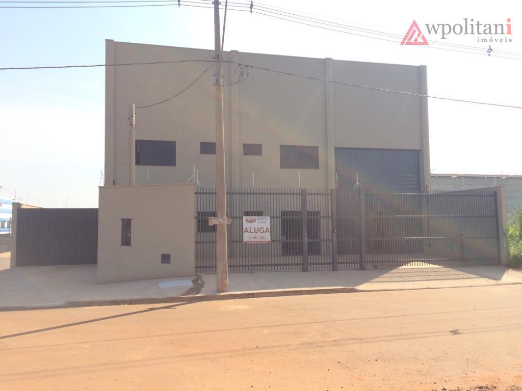 Galpão industrial à venda, Parque Industrial Bandeirantes, Santa Bárbara D'Oeste.