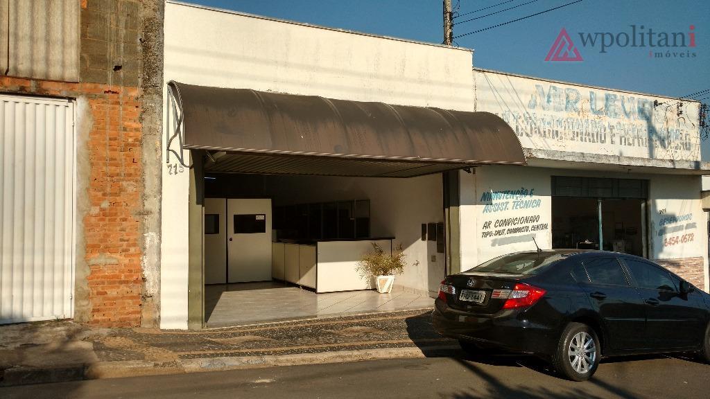 Salão comercial à venda, Vila Mac Knight, Santa Bárbara D'Oeste.