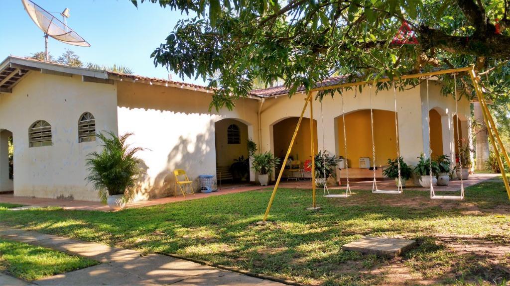 Chácara residencial à venda, Jardim Santa Alice, Santa Bárbara D'Oeste.