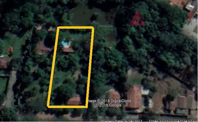 santa alice - chácara em terreno de 2.250 m² com área construída total de 150 m²;...