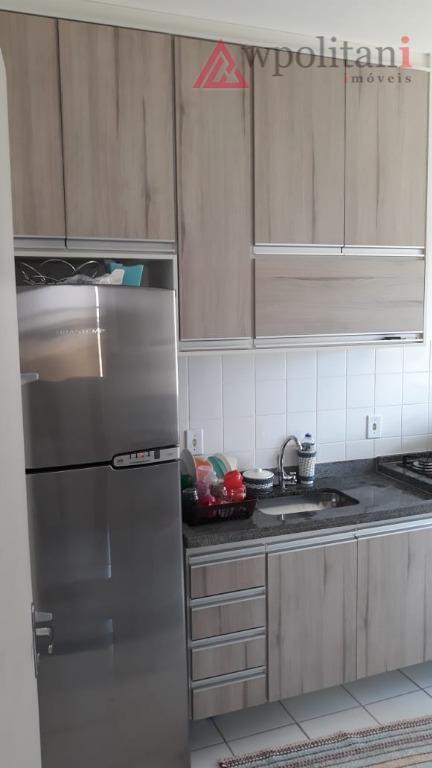 Apartamento com 2 dormitórios à venda, 49 m² por R$ 195.000 - Planalto do Sol II - Santa Bárbara D'Oeste/SP