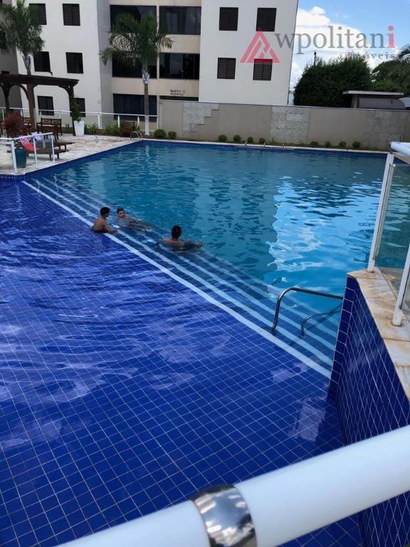 Apartamento 2 dormitórios 1 suíte à venda, 69 m² por R$ 275.000 - São Vito - Americana/SP