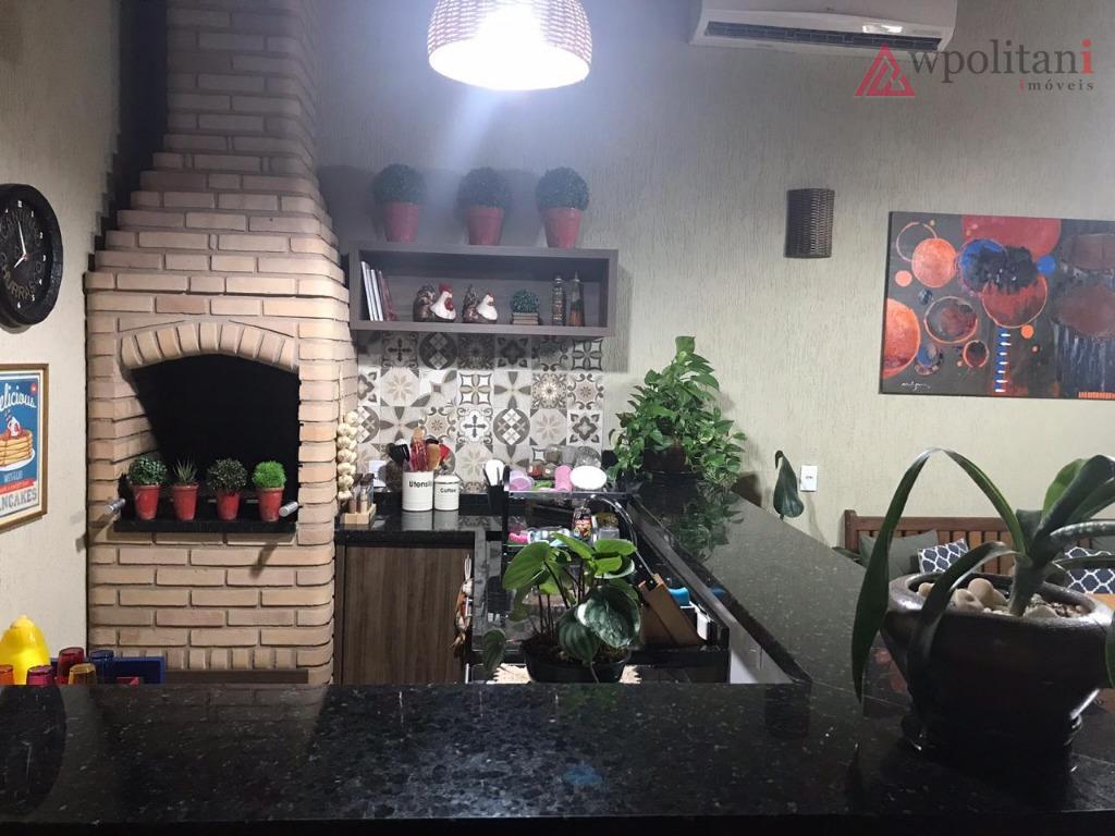 Linda casa 2 dormitórios à venda, 127 m² por R$ 378.000 - Residencial Terra Nova - Nova Odessa/SP