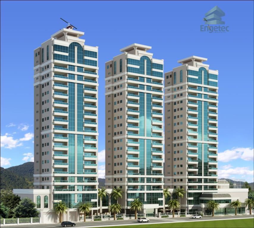 Apartamento residencial à venda, Meia Praia, Itapema.