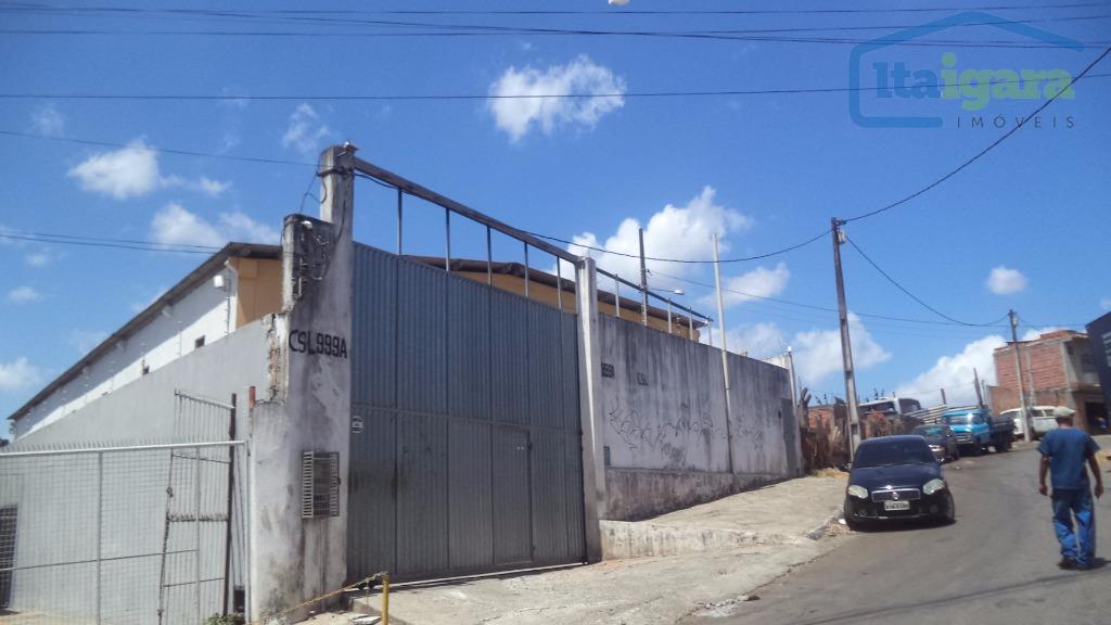Galpão  comercial para locação, Campinas de Pirajá, Salvador.