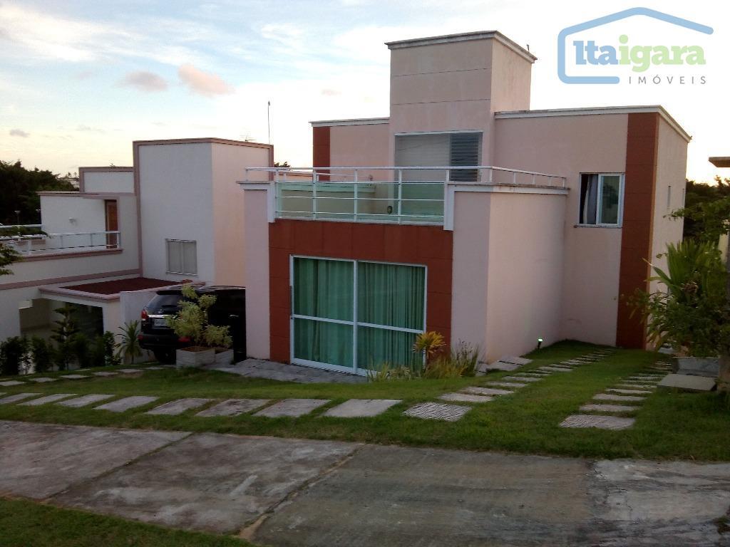 Casa residencial para venda e locação, Alphaville Litoral Norte 2, Camaçari.