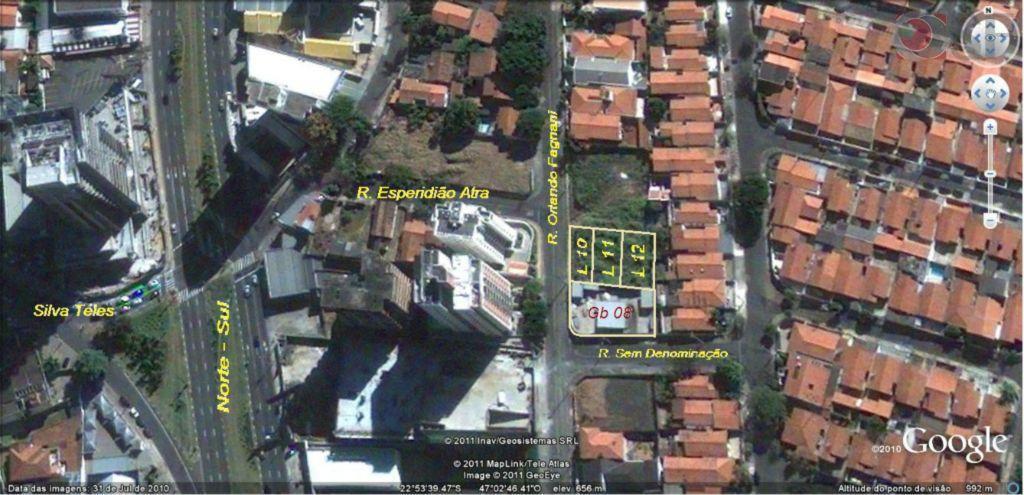Terreno  comercial à venda, Jardim Planalto, Campinas.