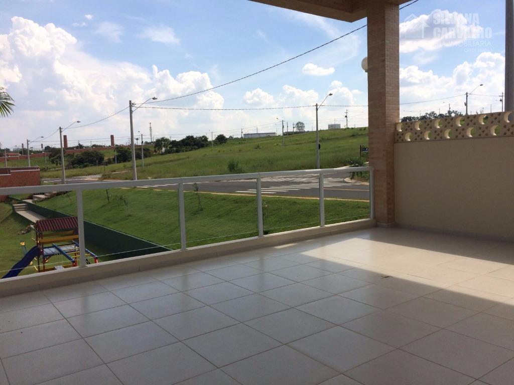 casa à venda no condomínio village moutonnée em salto, com 175 m² de área total sendo...