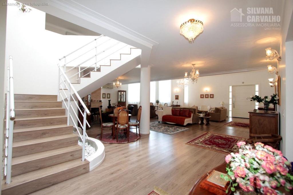 casa à venda no condomínio fazenda vila real em itu, sendo 6 suítes, 958 m². com...