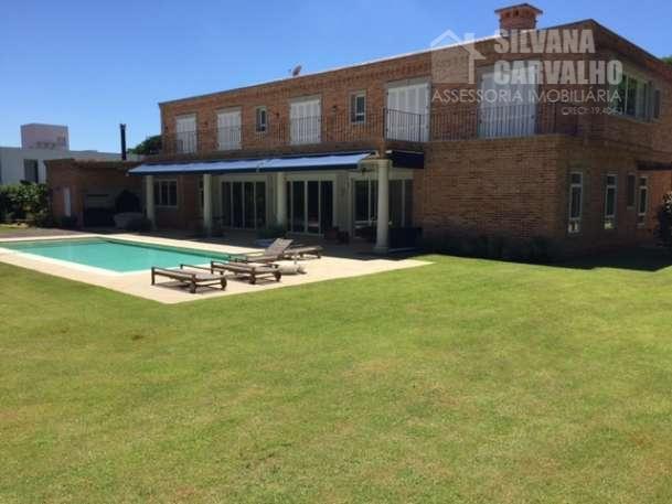 casa à venda no condomínio fazenda boa vista em porto feliz interior de sp. com estilo...