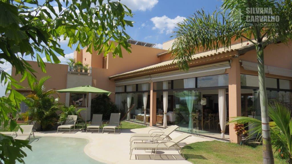 casa à venda no condomínio terras de são josé ii em itu, com 3.000 m² de...