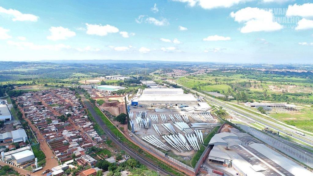 galpão industrial - rodovia castelinho - em ituvalor locação: r$15/m² de área construídar$2/m² pátio (possibilidade de...
