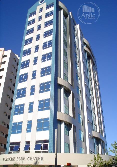 Sala comercial para locação, Centro, Florianópolis - SA0033.