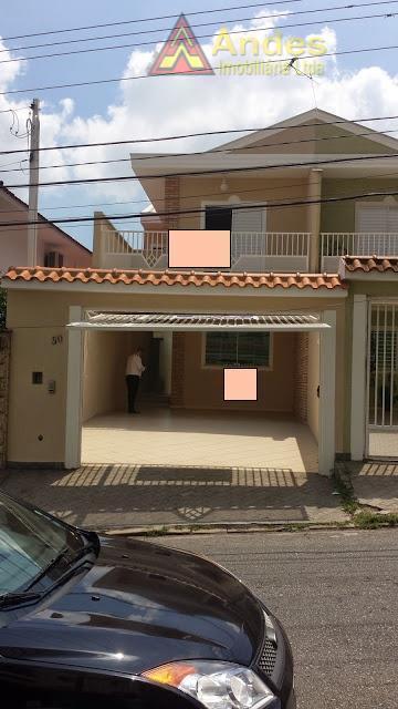 Sobrado residencial à venda, Parque Mandaqui, São Paulo.