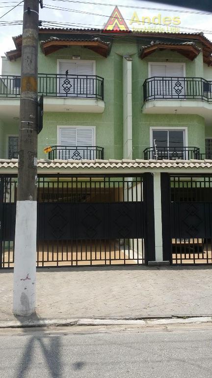 Sobrado residencial à venda, Vila Guaca, São Paulo.