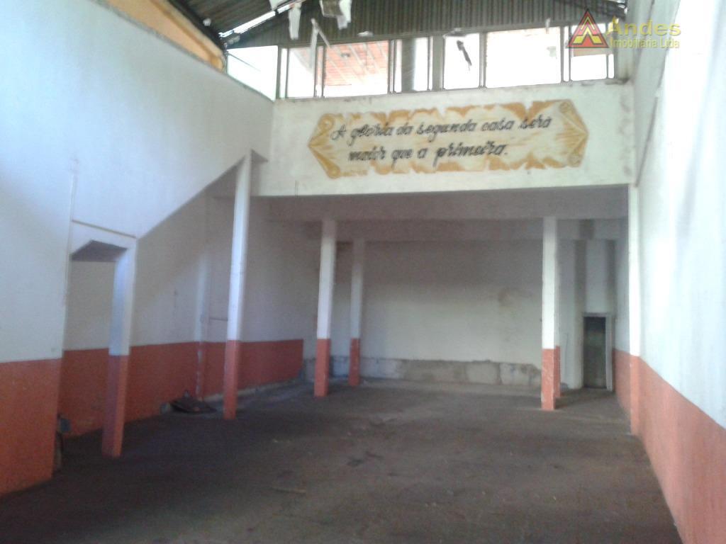Salão Pé-Direito e Mezanino - Av. Conceição