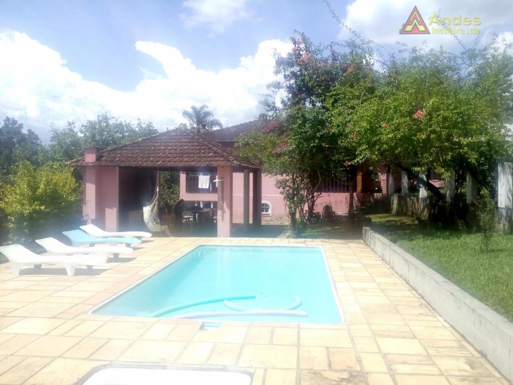 Chácara residencial à venda, São Bento, Arujá.